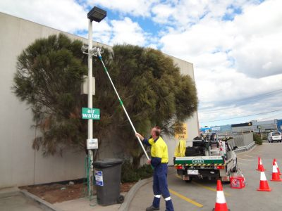 BP TRUCK STOP - CCTV CAMERA CLEANING